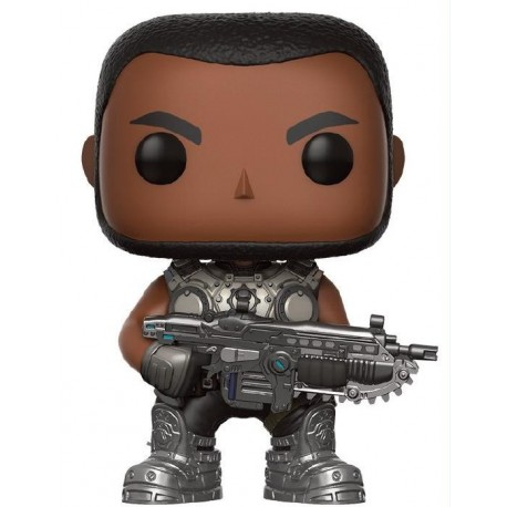 POP! Games: Gears Of War - Augustus Cole no198 Vinyl Figure