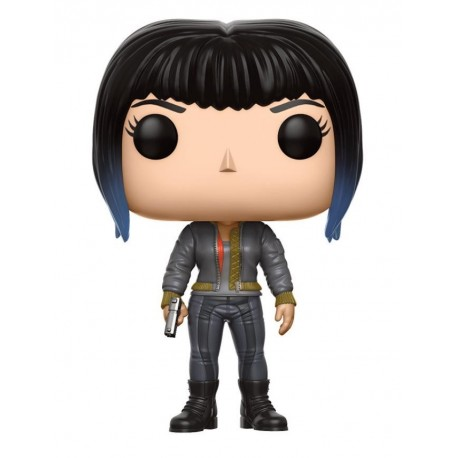 POP! MOVIES: GHOST IN THE SHELL - MAJOR IN BOMBER JACKET no393 VINYL FIGURE