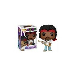 POP! ROCKS: PURPLE HAZE PROPERTIES - JIMI HENDRIX (WOODSTOCK) no54 VINYL FIGURE