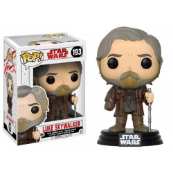 POP! Star Wars: The last Jedi - Luke Skywalker no193 Vinyl Bobble-Head Figure