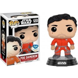 POP! STAR WARS: POE DAMERON IN JUMPSUIT - LIMITED no120 VINYL BOBBLE-HEAD