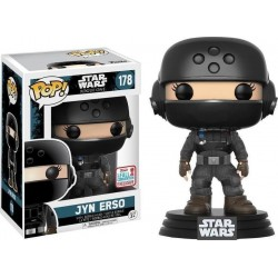 POP! Star Wars: Rogue One - Jyn Disguise with Helmet no178 NYCC 2017 Exclusive Vinyl Bobble-Head Figure