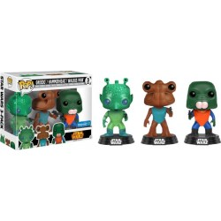 POP! Star Wars: Greedo, Hammerhead, Walrus Man - 3-Pack NYCC 2017 Vinyl Figures