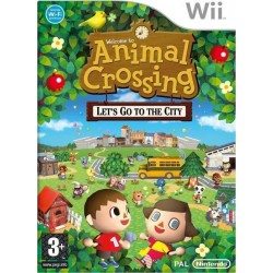 WII ANIMAL CROSSING : LET'S GO TO THE CITY (EU)