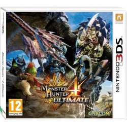 3DS MONSTER HUNTER 4 ULTIMATE (EU)