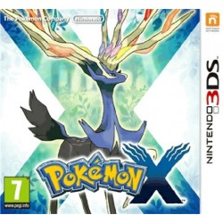 3DS POKEMON X (EU)