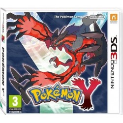 3DS POKEMON Y (EU)