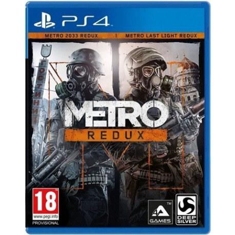 PS4 Metro Redux Double Pack (2033 + Last Light) (EU)