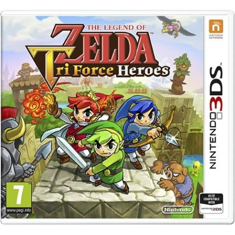 3DS THE LEGEND OF ZELDA: TRI FORCE HEROES (EU)