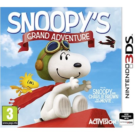 3DS SNOOPY'S GRAND ADVENTURE (THE PEANUTS MOVIE) (EU)