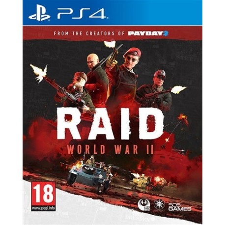 PS4 RAID: WORLD WAR II (EU)