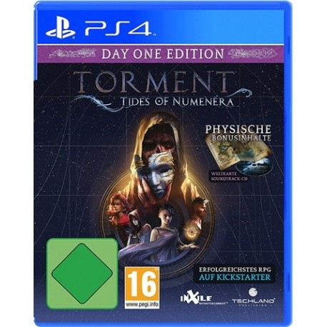 PS4 TORMENT: TIDES OF NUMENERA - DAY ONE EDITION (EU)