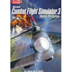 PC Combat Flight Sim 3 - Battle For Europe (used)
