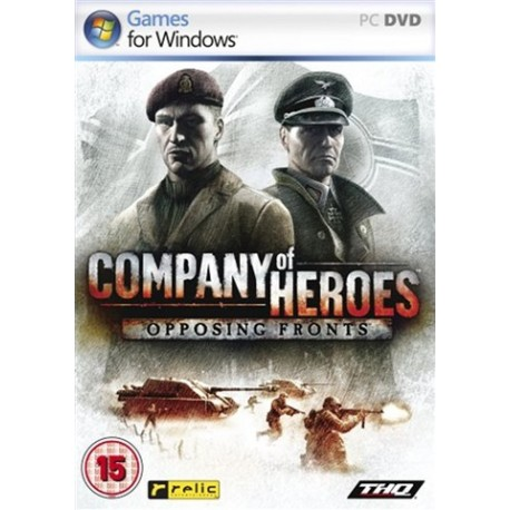 PC Company Of Heroes: Opposing Fronts (used)