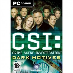 PC CSI - Dark Motives (used)
