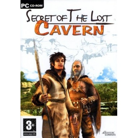 PC Secret of the Lost Cavern (used)