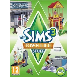 PC Sims 3, Town Life Stuff (used)