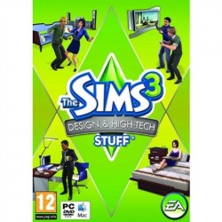 PC Sims 3: Design & Hi Tech Stuff (used)