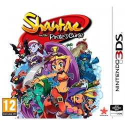 3DS SHANTAE AND THE PIRATES CURSE (EU)