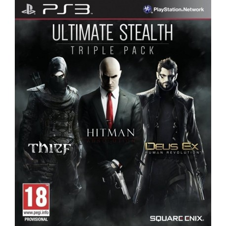 PS3 ULTIMATE STEALTH TRIPLE PACK (NEW)