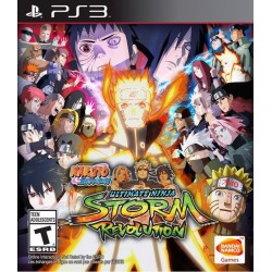 PS3 NARUTO SHIPPUDEN ULTIMATE NINJA STORM REVOLUTION (USED)
