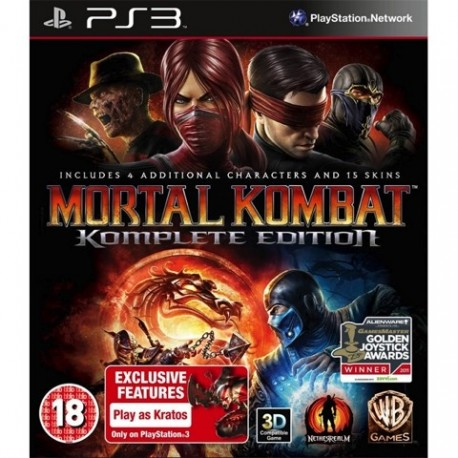 PS3 Mortal Kombat - Komplete Edition (used)