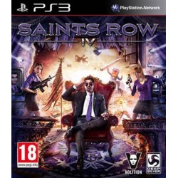 PS3 Saints Row IV (used)