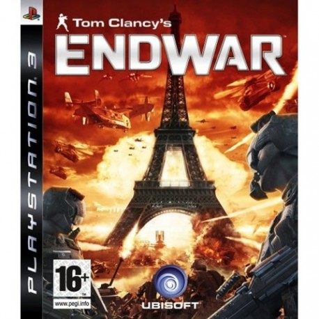 PS3 Tom Clancy's EndWar - Limited w, Headset (new)