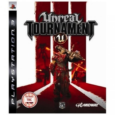PS3 Unreal Tournament III (3) (used)