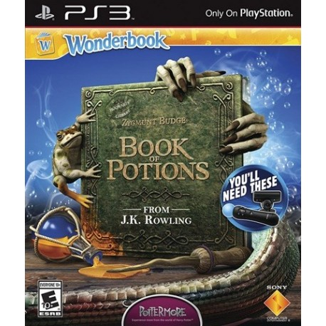 PS3 Wonderbook - Book of Potions (Book+Game) (used)