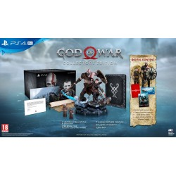 PS4 GOD OF WAR COLLECTOR'S EDITION (NEW)