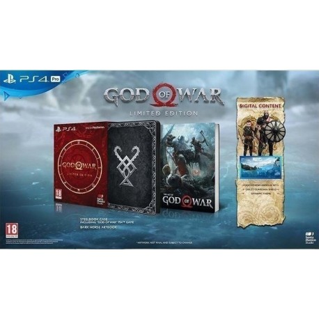 PS4 GOD OF WAR LIMITED EDITION (NEW)