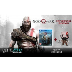 PS4 GOD OF WAR SPECIAL POP EDITION (NEW)