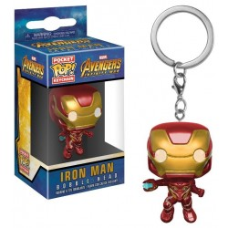 Pocket POP! Avengers Infinity War - Iron Man Bobble-Head Figure Keychain