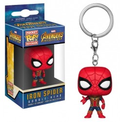 Pocket POP! Avengers Infinity War - Iron Spider Bobble-Head Figure Keychain