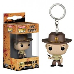 POCKET POP! THE WALKING DEAD: RICK CRIMES VINYL FIGURE KEYCHAIN