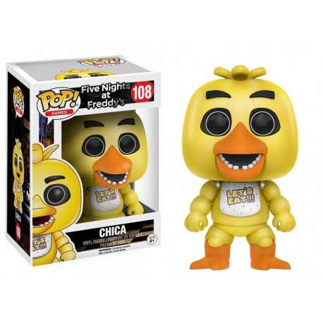 POP! GAMES: FIVE NIGHTS AT FREDDY'S - CHICA no108 VINYL FIGURE