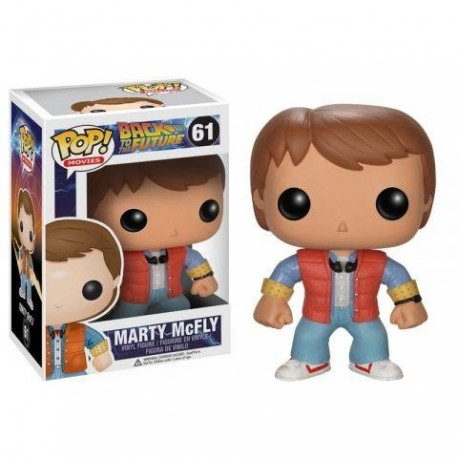 POP! MOVIES BACK TO THE FUTURE - MARTY Mc FLY no49 VINYL FIGURE