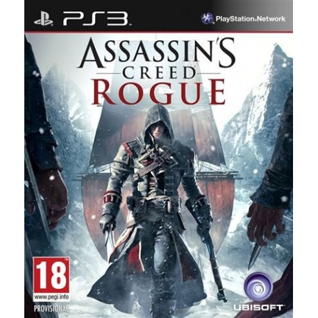 PS3 Assassin's Creed Rogue (NEW)