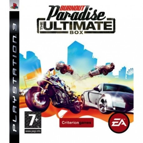 PS3 Burnout Paradise - Ultimate Box (used)