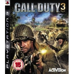PS3 Call Of Duty 3 (used)
