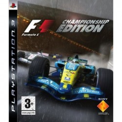 PS3 Formula One Championship edition (used)