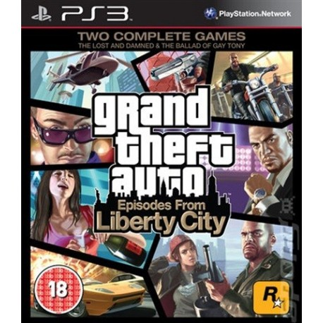 PS3 Grand Theft Auto: Episodes from Liberty (used)