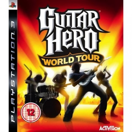 PS3 Guitar Hero World Tour (Solus) (used)