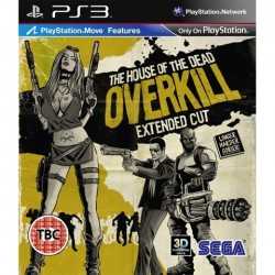 PS3 House of the Dead: Overkill (used)