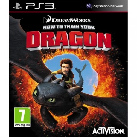 PS3 How To Train Your Dragon (used)