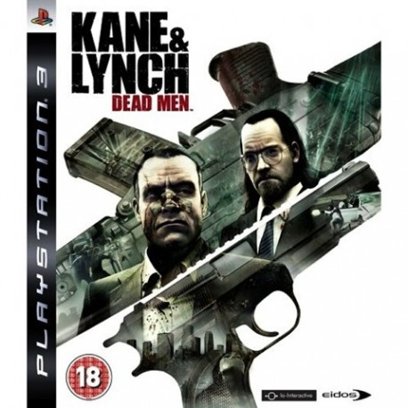 PS3 Kane & Lynch: Dead Men (used)