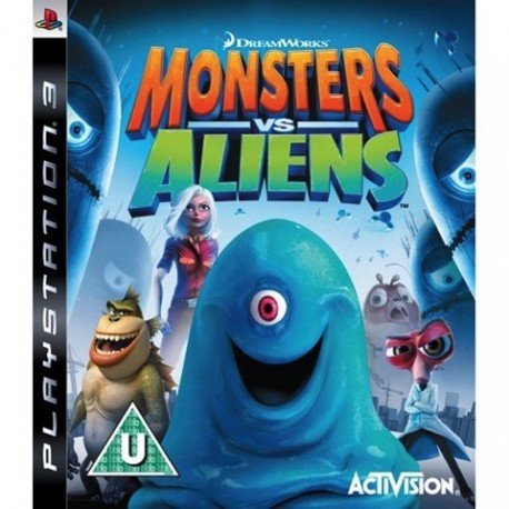 PS3 Monsters Vs Aliens (used)