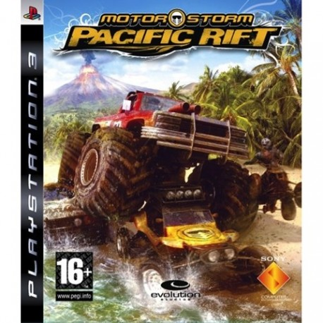 PS3 Motorstorm - Pacific Rift (used)