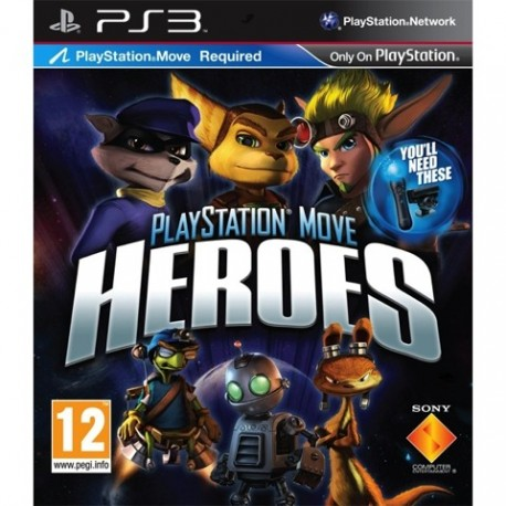 PS3 PlayStation Move Heroes (used)